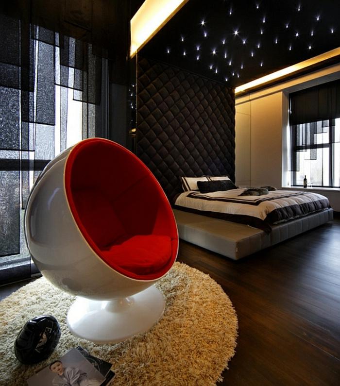 fauteuil-boule-intérieur-luxueux-et-chaise-ronde-futuristique