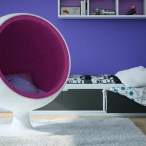 Le fauteuil boule - un meuble de déco et de détente
