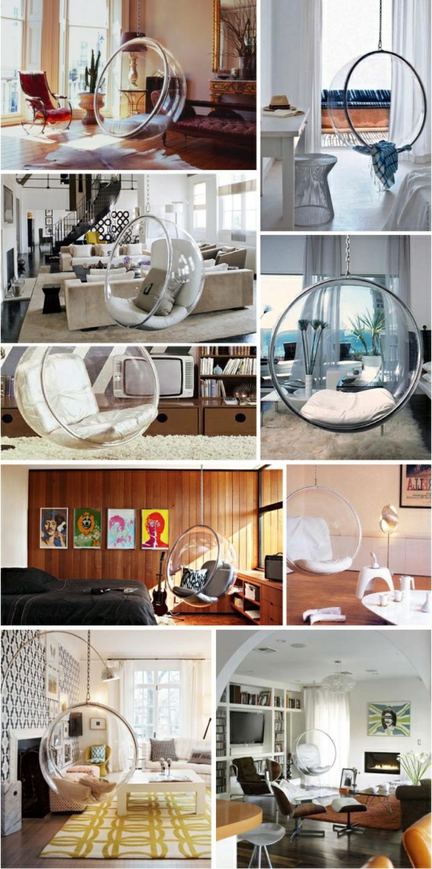 fauteuil-boule-pendant-objet-déco-pour-l'intérieur-contemporain