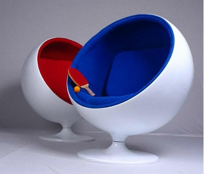 fauteuil-boule-pivotant-idées-superbes-d'aménagement