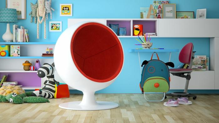fauteuil-boule-pour-la-chambre-d'enfant-mignonne