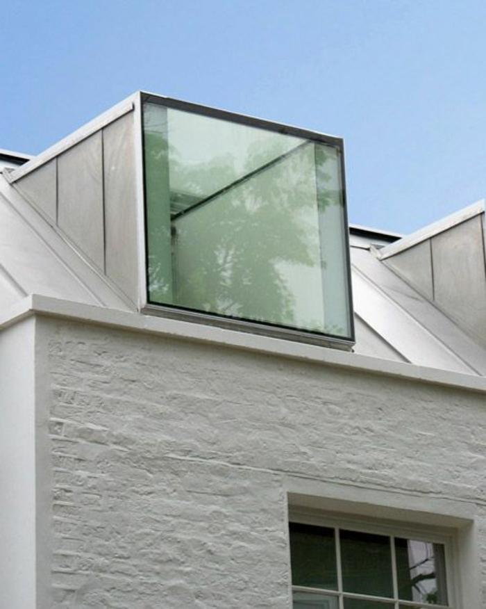 fenetre-de-toit-idée-originale-carré-verre