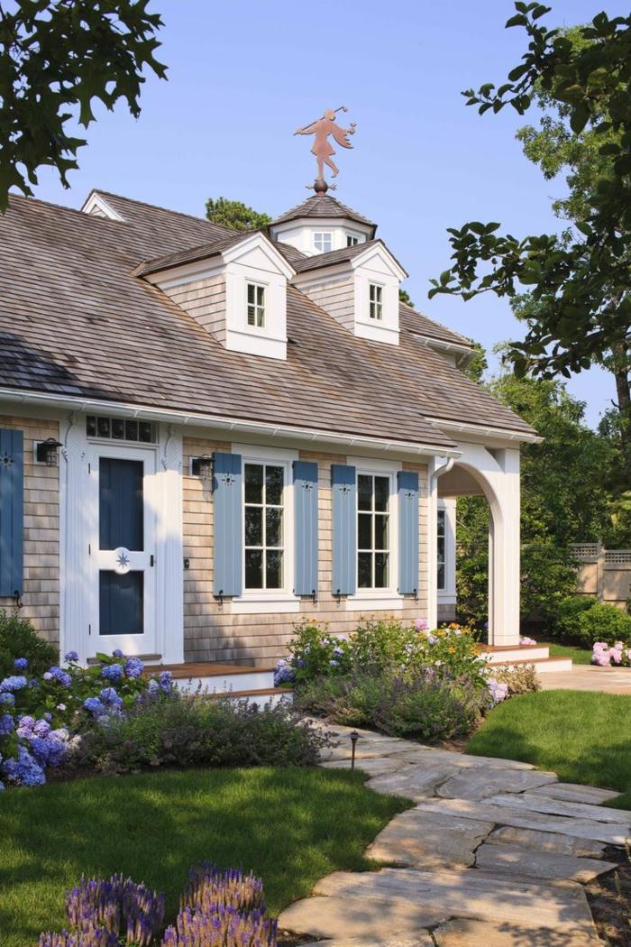 La lucarne de toit en 60 images inspiratrices for Maison rustique
