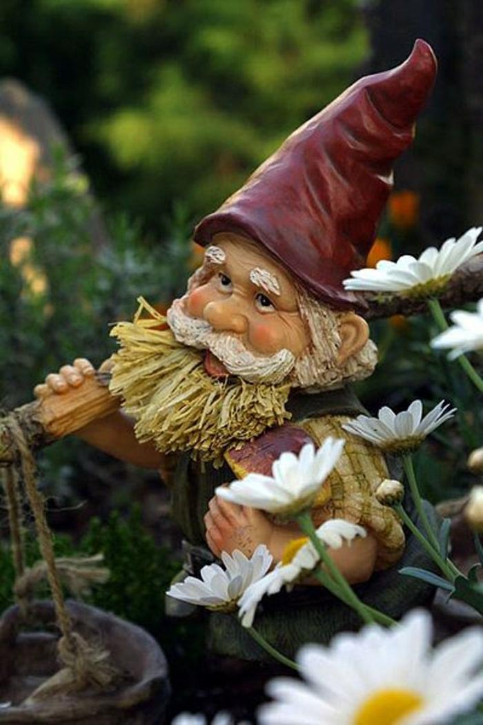 gnome-de-jardin-statues-jardin-décoration-jardin-extérieur-moderne-déco-jardin