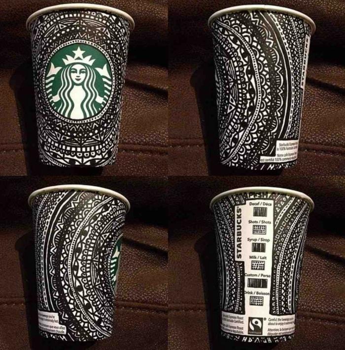 gobelet-americain-café-cappuccino-créative-tasse-carton-art