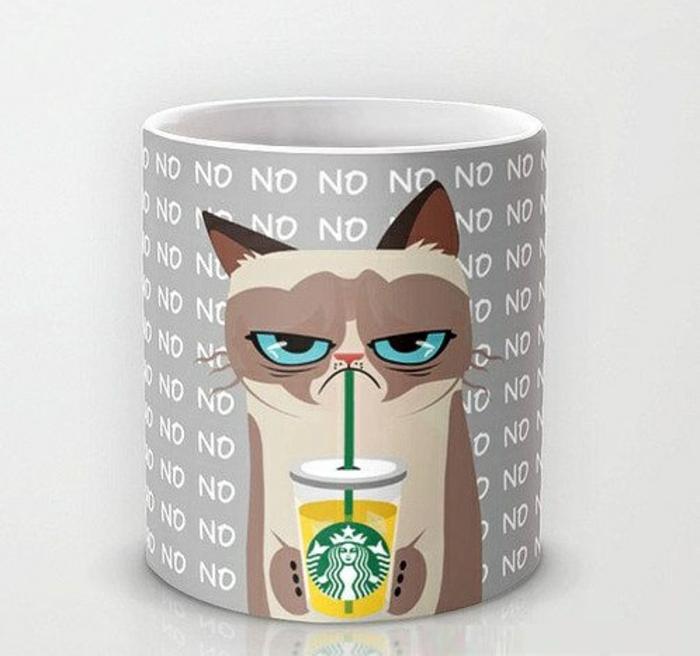 gobelet-americain-café-cappuccino-grumpy-chat