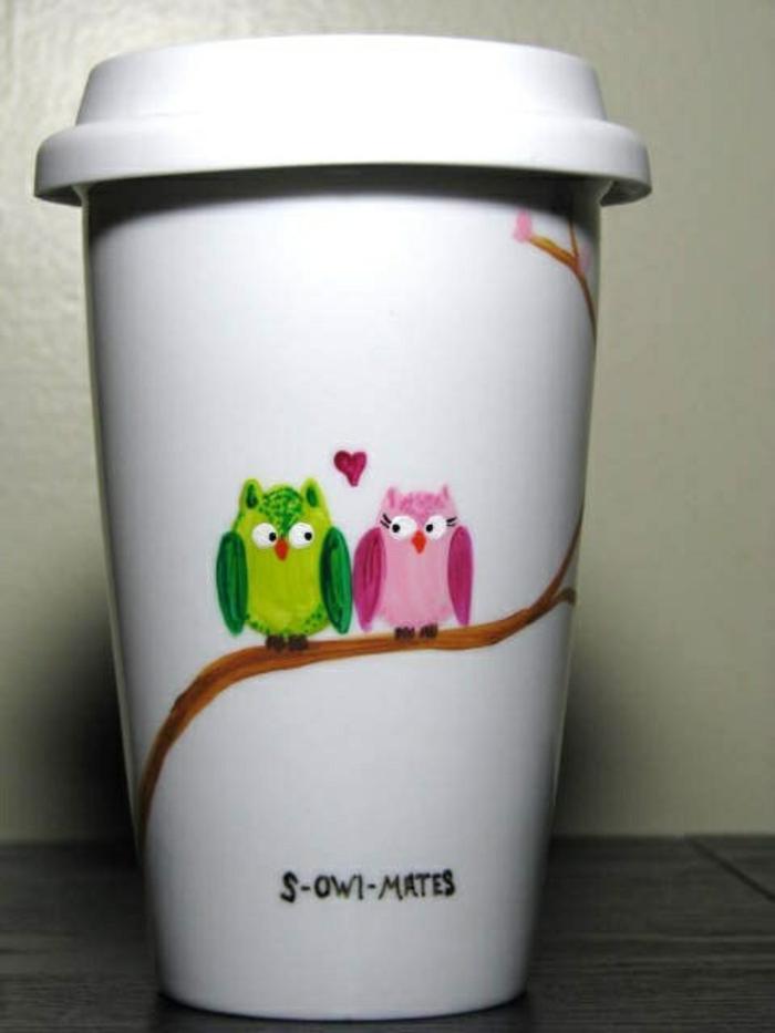 gobelet-americain-café-cappuccino-s-owl-mates-hiboux-sur-branche-arbre