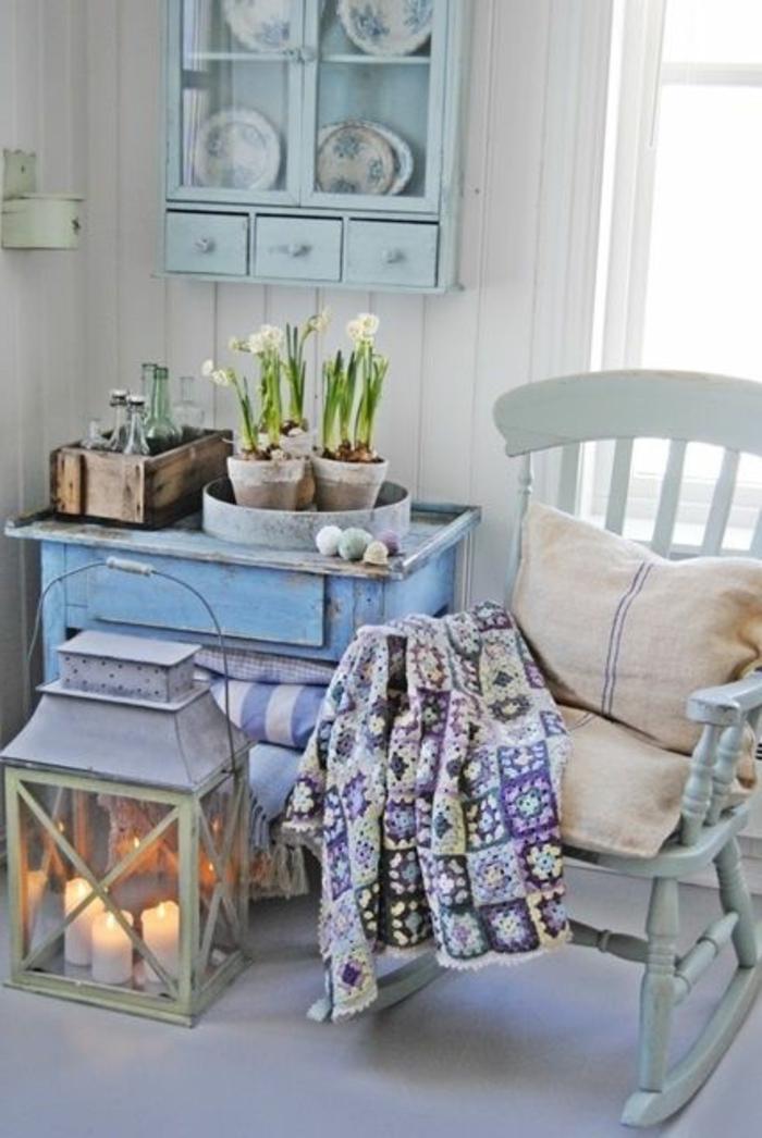 ide amenagement chambre ambiance romantique vintage - Chambre Vintage Romantique