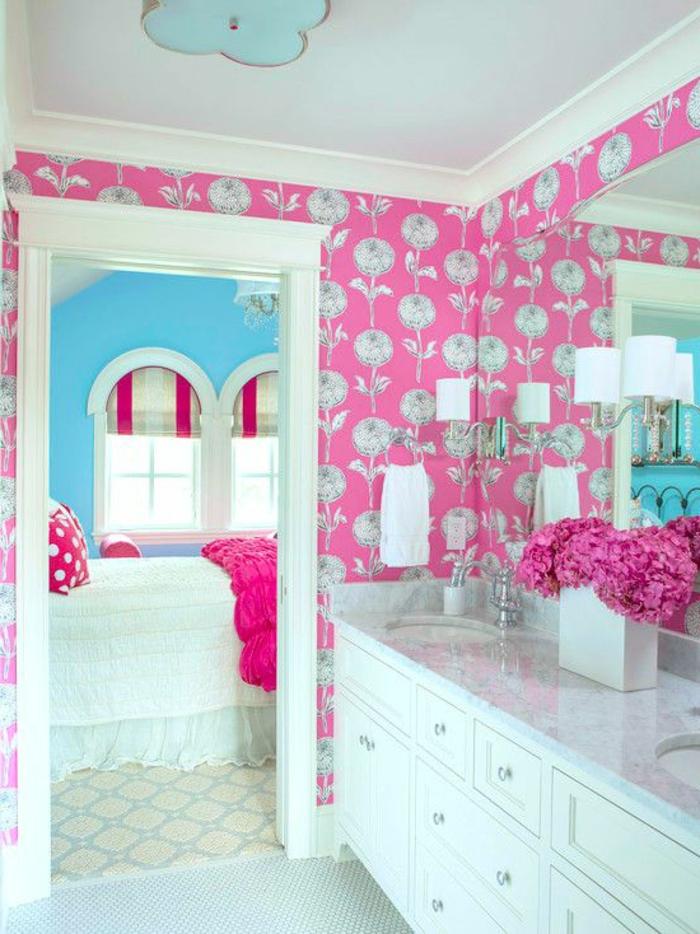 idée-chambre-ado-fille-être-créative-salle-de-bain
