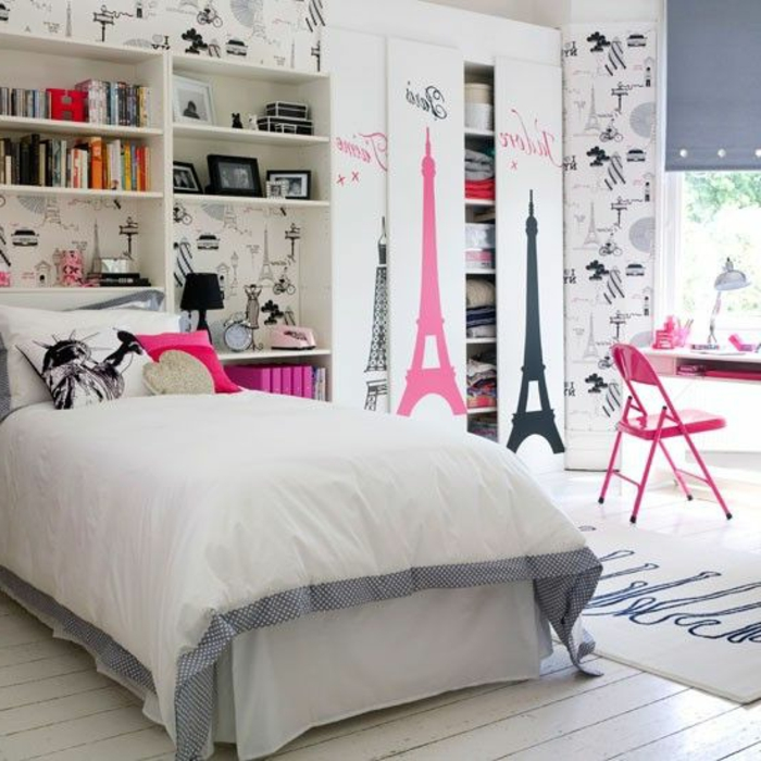 La Chambre Ado Fille 75 Idees De Decoration Archzine Fr