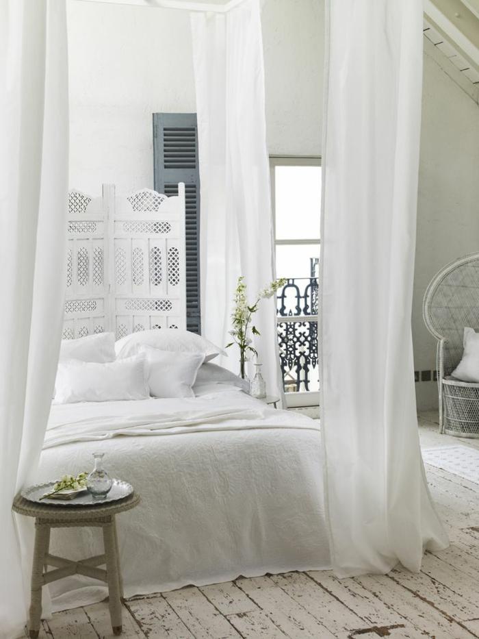 idées-déco-chambre-romantique-intérieur-blanche-decoration