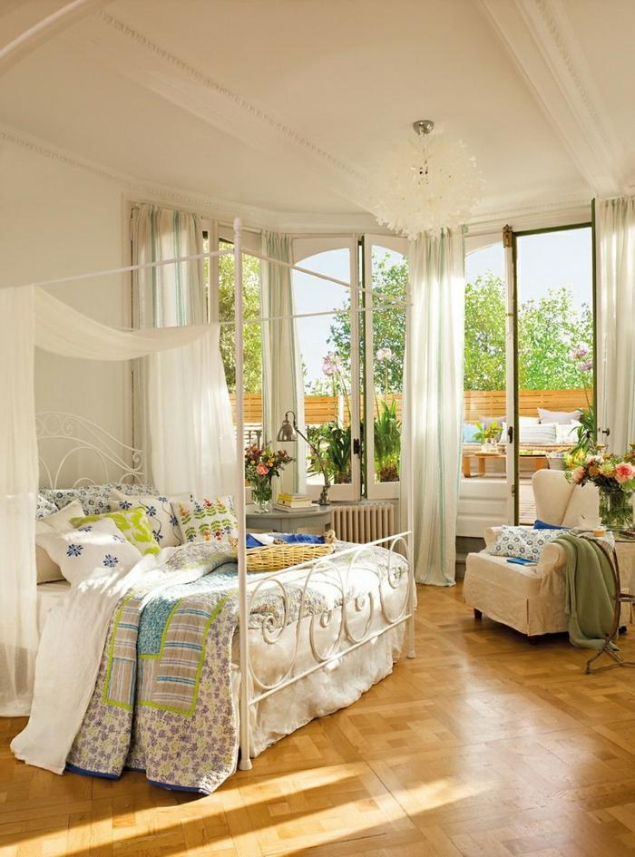 idées-déco-chambre-romantique-intérieur-vintage-rustique