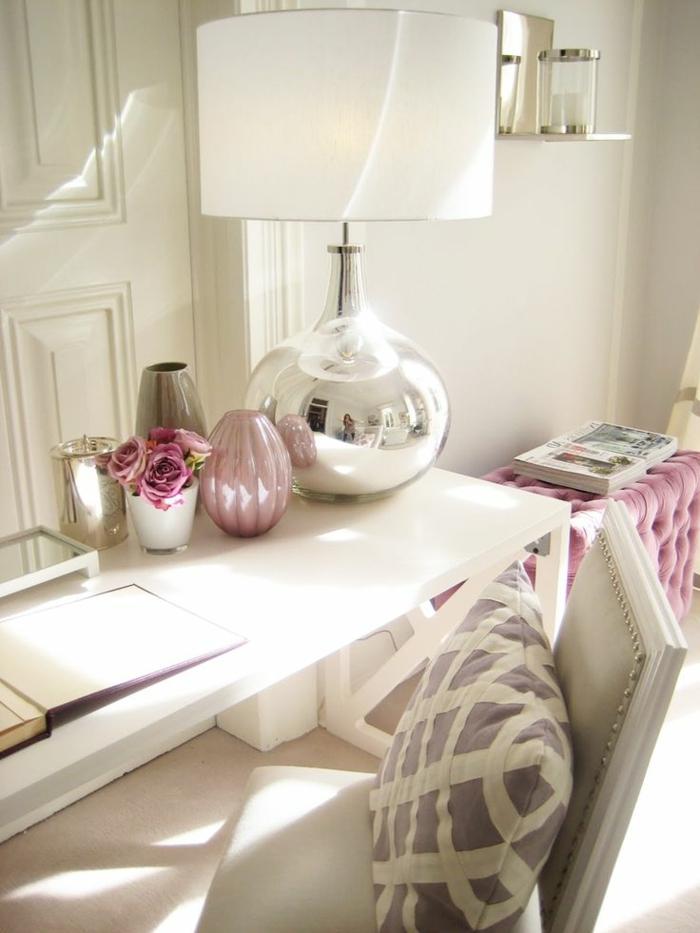 La deco chambre romantique 65 id es originales - Idee deco chambre femme ...