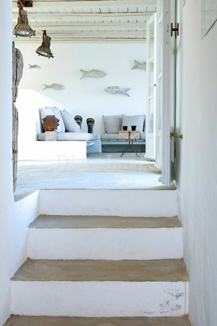 La d coration marine en 50 photos inspirantes for Deco mur interieur maison