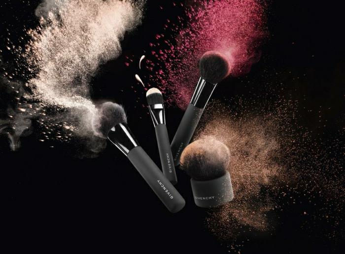 kit-pinceaux-maquillage-beauté-couleurs-givenchy-proffessionnel