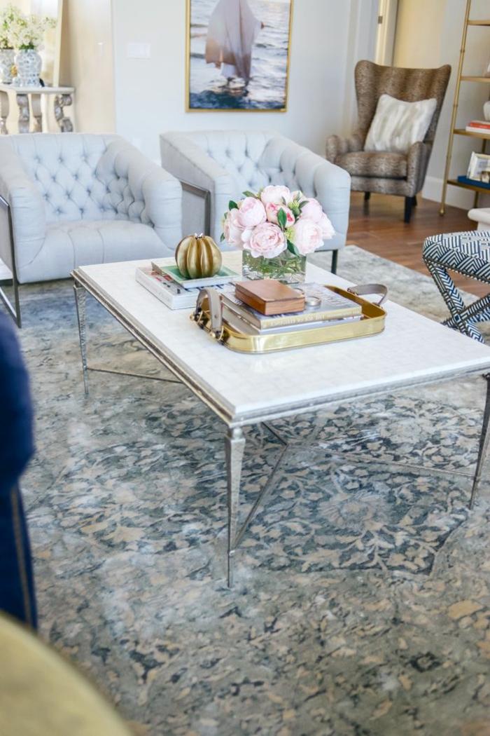 la-pivoine-fleur-décoration-chambre-salon-table-tapis