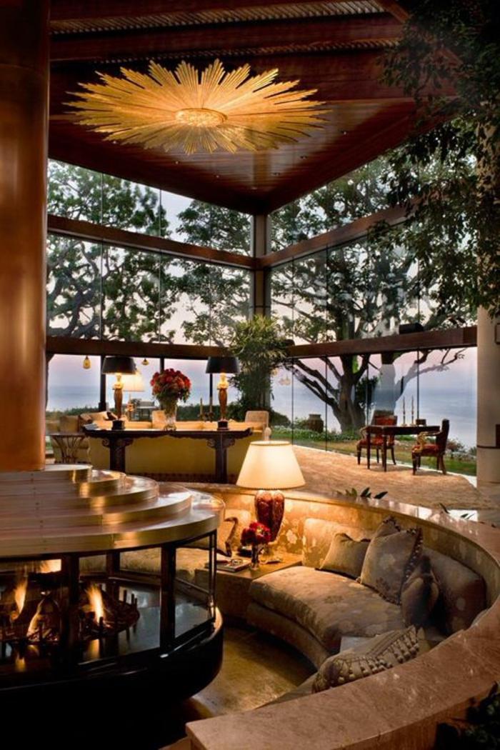 lampes-de-jardin-luminaires-décoration-de-jardin-pelouse-meubles-de-jardin