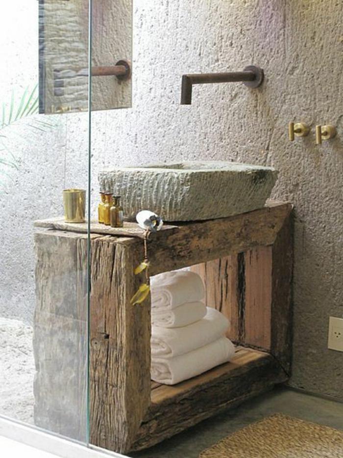 lavabo-retro-de-couleur-gris-objet-salle-de-bain-meuble-rétro-pour-la-salle-de-bain