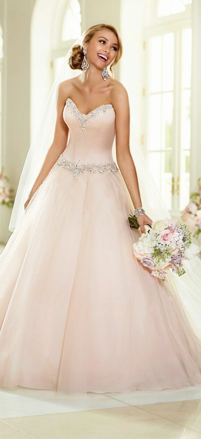 la robe rose poudr e en 60 images originales