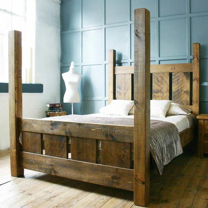 Le meuble massif est il convenable pour l 39 int rieur - Chambre adulte en bois massif ...