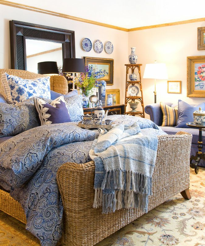 lit-en-rotin-design-meubles-en-rotin-chambre-a-coucher-moderne-design