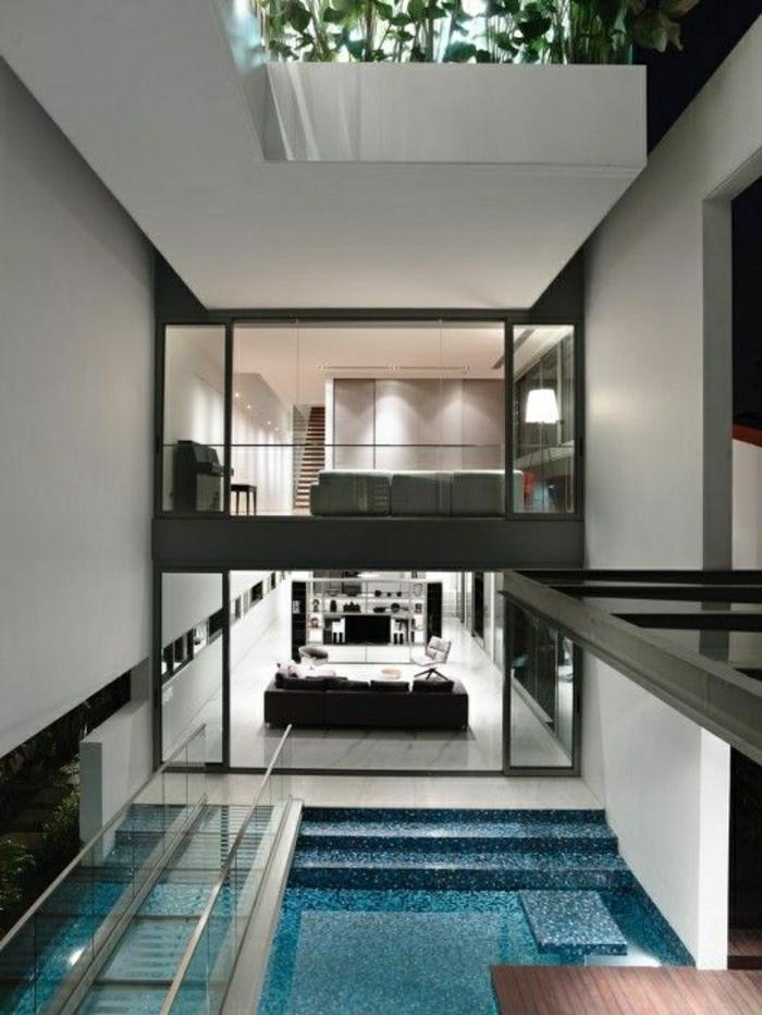 L appartement atypique qui va vous inspirer en 54 photos - Piscine dans la maison ...