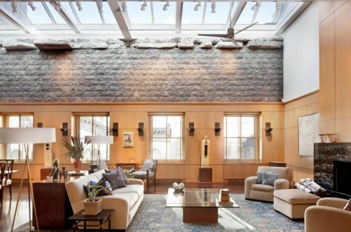 lucarne-toit-façade-verticale-salle-de-séjour