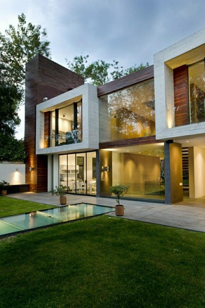 maison-atypique-extérieur-atypique-jardin-maison-mur-en-verre-maison-contemporaine