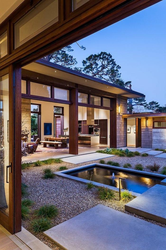 eclairage exterieur maison gallery of spots du extrieur en ides inspirantes pour les espaces. Black Bedroom Furniture Sets. Home Design Ideas