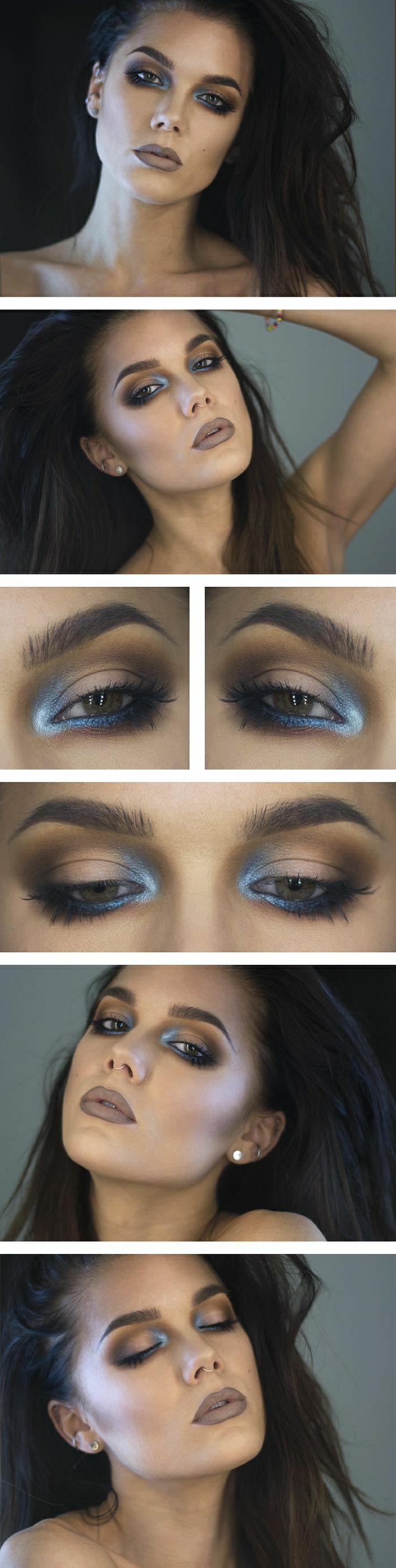maquillage-des-yeux-marrons-idées-soirée