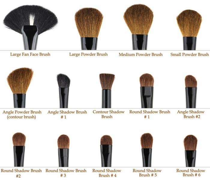 Assez Le pinceau maquillage professionnel - lequel choisir - Archzine.fr SU52