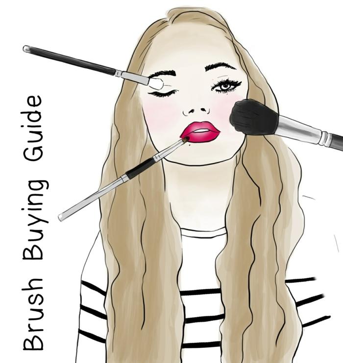 maquillage-pinceaux- fond-de-teint-comment-les-utiliser-trois-principeaux