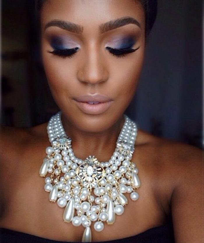 maquillage-pour-yeux-marron-belle-perles