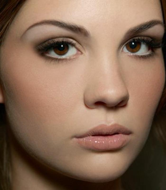 maquillage-yeux-marron-soirée-journée