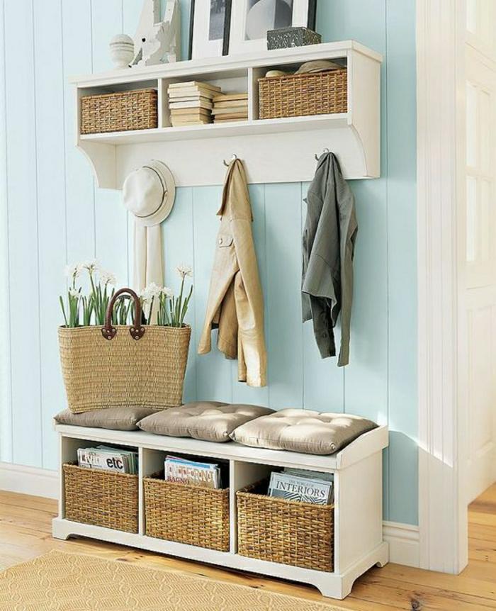 bois console, couloir avec meubles pour entrée