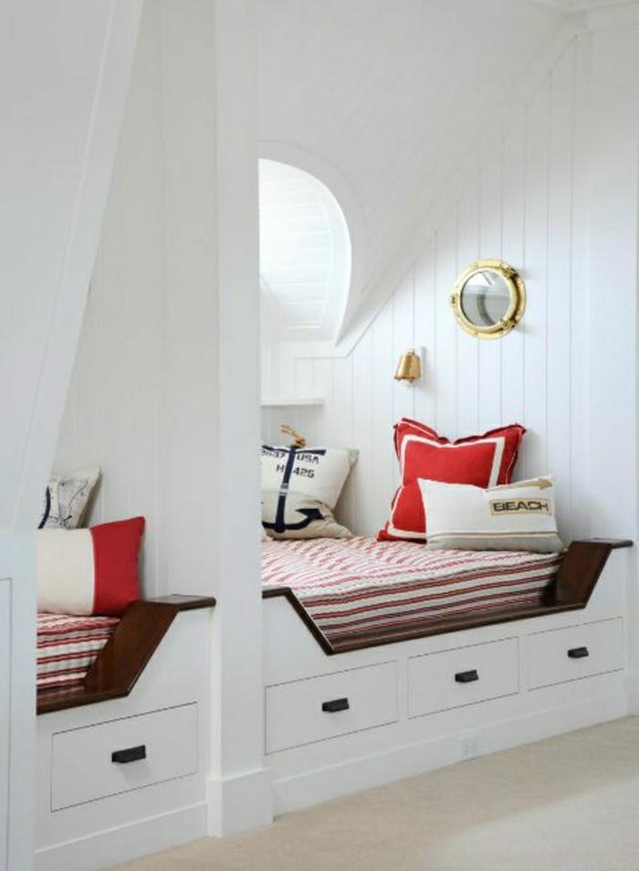 meuble-marine-chambre-marine-style-marin-décoration-marine-mur-blanc-en-bois