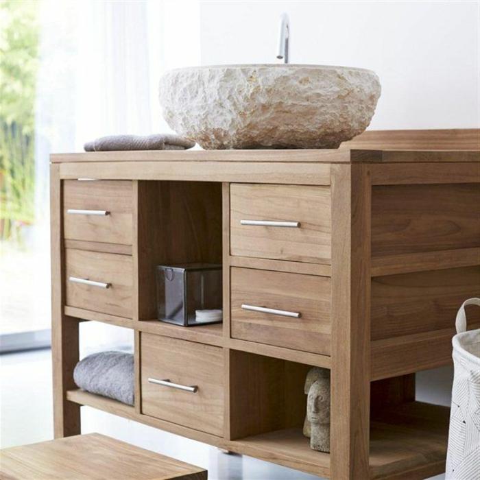 meuble-teck-meuble-massif-bois-vasque-salle-de-bain-idée-aménagement