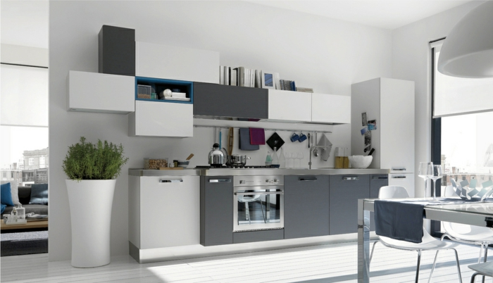 la cuisine grise plut t oui ou plut t non. Black Bedroom Furniture Sets. Home Design Ideas