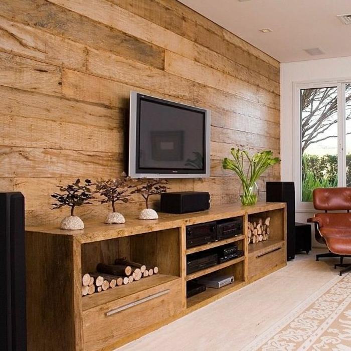 mur-en-bois-décoration-zen-sol-beige-en-lin-beige-mur-de-planchers-salon-de-style-zen