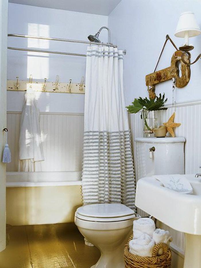 Rideaux de salle de bain maison design - Rideaux salle de bain ...