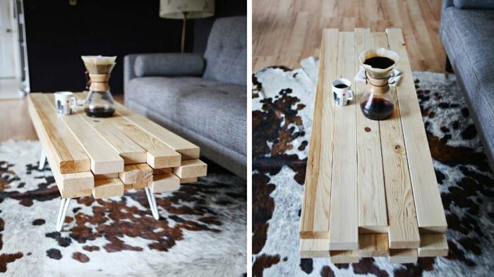 la table basse palette 60 id es cr atives pour la fabriquer. Black Bedroom Furniture Sets. Home Design Ideas