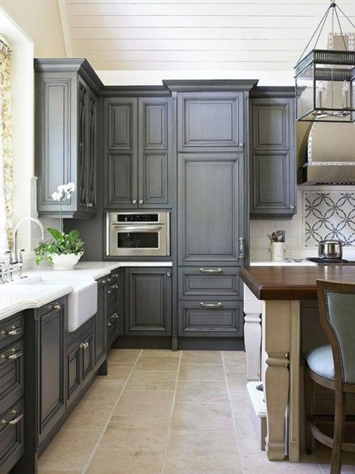 La cuisine grise plut t oui ou plut t non for Couleur mur avec carrelage gris
