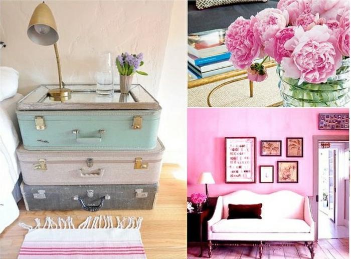 le bouquet pivoine qui peut cr er une atmosph re joviale. Black Bedroom Furniture Sets. Home Design Ideas