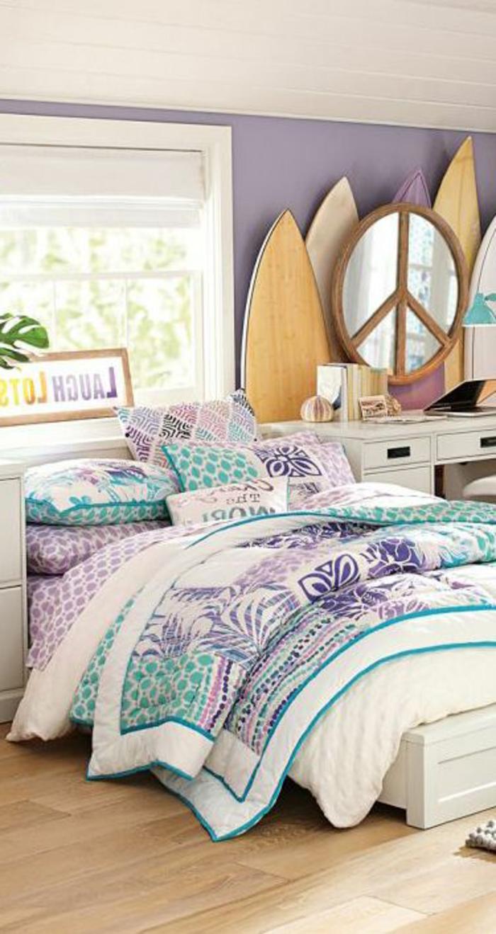 planche-de-surf-chambre-à-coucher-douce