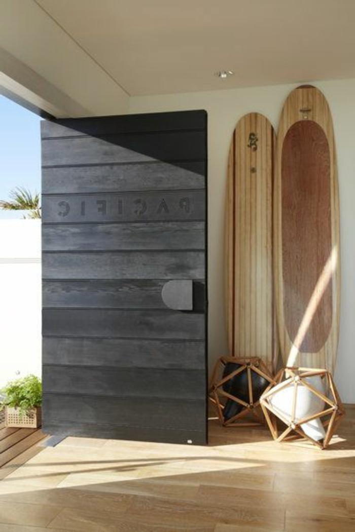 D corez vos int rieurs avec une planche de surf - Planche de bois pour table ...