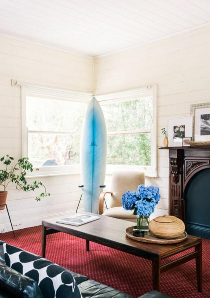 planche-de-surf-salle-de-séjour