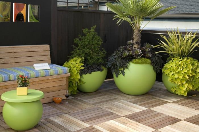 40 pots de fleurs qui vont allumer votre imagination. Black Bedroom Furniture Sets. Home Design Ideas