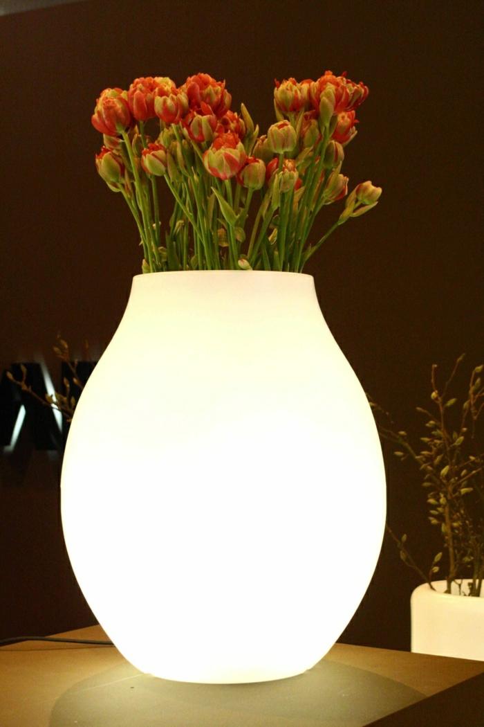 pot-lumineux-plantes-vertes-vase-fleurs