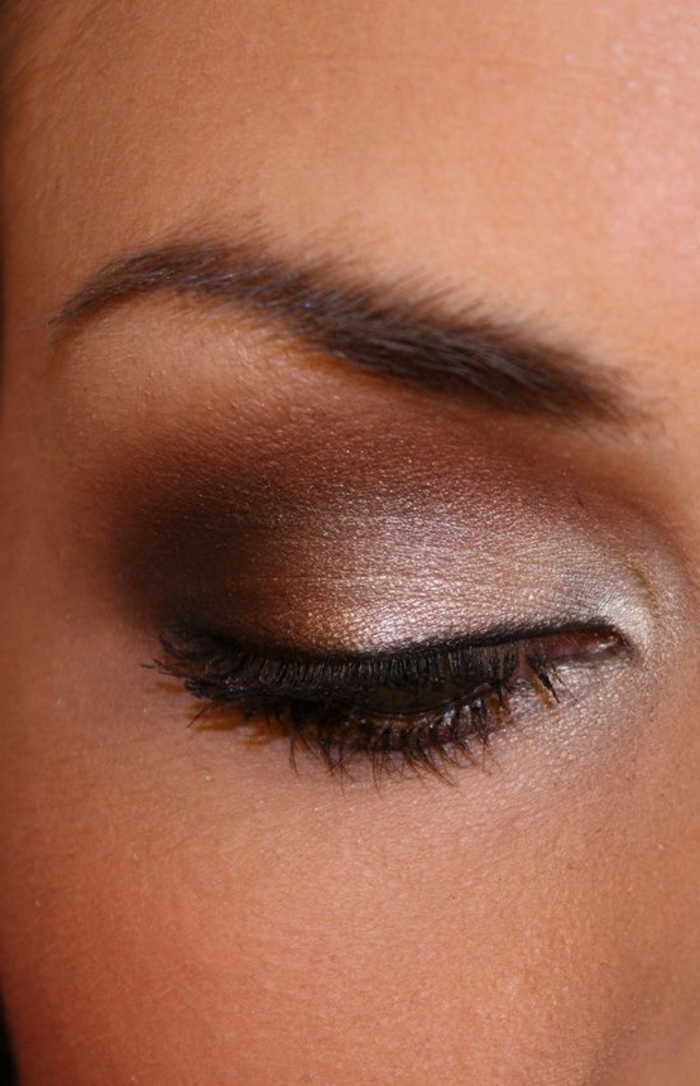 Maquillage naturel yeux marrons - Maquillage naturel yeux ...