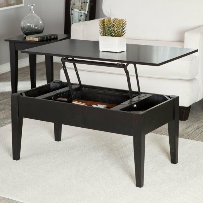 relevable-table-de-salon-basse-tapis-canapé-blanc
